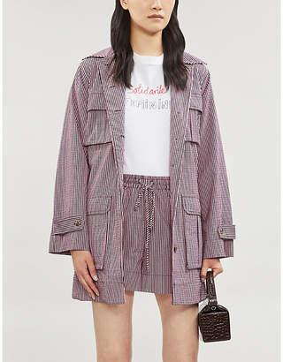Bella Freud 'Solidarité Feminine' cotton-jersey T-shirt