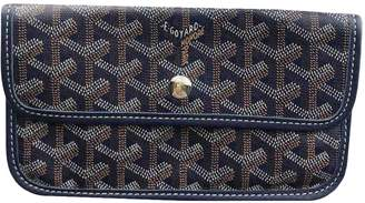 Goyard Blue Cloth Purses, wallets & cases