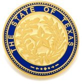 Cufflinks Inc. State of Texas Seal Lapel Pin