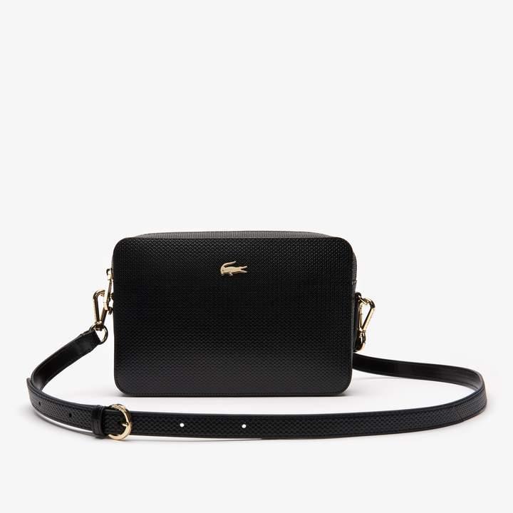 e6647c74f97 Lacoste Leather Shoulder Bag - ShopStyle