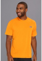 The North Face S/S Reaxion Crew (Safety Orange) - Apparel