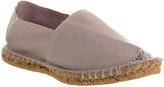 Office Aqua Flat Espadrille