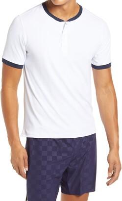 Rhone Ringer Performance Henley T-Shirt