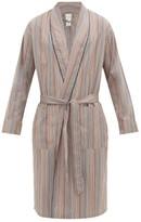 Paul Smith - Signature Stripe Cotton Poplin Robe - Mens - Multi