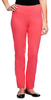 As Is Women with Control Regular Slim Leg Ankle Pants