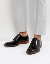 Ted Baker Marar Hi Shine Derby Shoes In Black