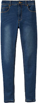 Joules Little Joule Girls' Denim Jeans, Blue