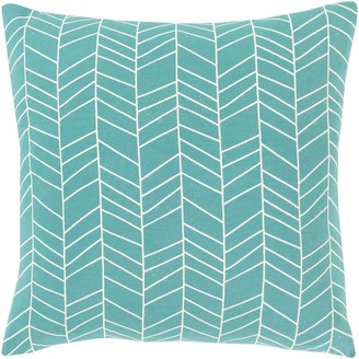 Overstock Advik Modern 18-inch Poly or Feather Down Filled Throw Pillow