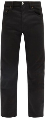 Acne Studios River Cotton-blend Slim-leg Jeans - Black