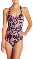 O'Neill Luna Print One-Piece Swimsuit