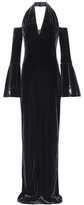 Tom Ford Halterneck velvet gown