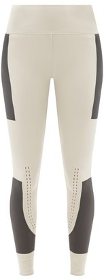 adidas by Stella McCartney Support Core High-rise Leggings - Black Beige