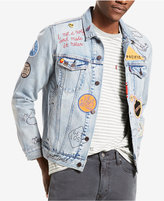 Levi's Limited Men's Allover Embellished Trucker Jacket, Created for Macy's