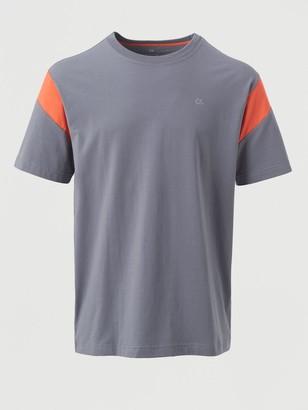 Calvin Klein Performance Short Sleeve T-Shirt - Blue