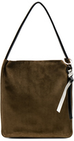 Proenza Schouler Extra Large Suede Tote in Brown,Neutrals.