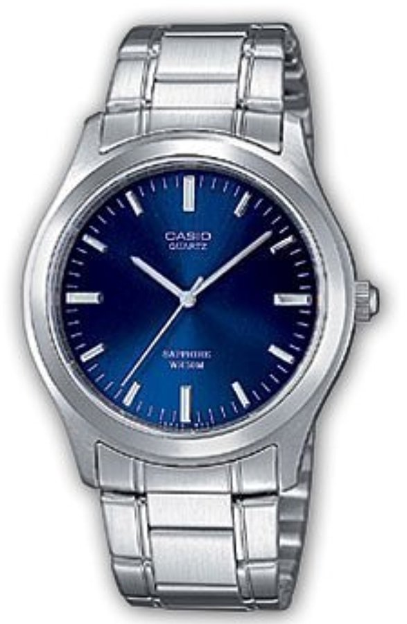 Casio Standard MTP-1200A-2AVEF Men's Analog Quartz Watch with Dial and Stainless Steel Bracelet
