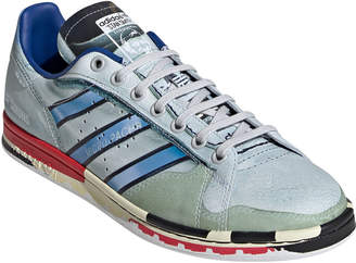 Adidas By Raf Simons Men's Micro Stan Smith Printed Leather Sneakers