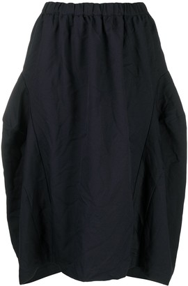 Comme des Garçons Comme des Garçons Oversized Full Midi Skirt