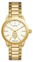 Tory Burch Collins Watch, Gold-Tone/Ivory, 32 Mm