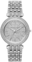 Michael Kors Darci Stainless Steel Bracelet Watch with Crystals