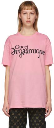 Gucci Pink Orgasmique T-Shirt