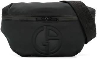 Giorgio Armani logo belt bag