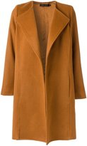 Andrea Marques - lapels coat - women - Polyamide/Wool - 42
