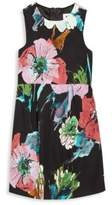 Milly Girl's Floral-Print A-Line Dress