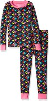 Hatley Girls' Henley Pajama Set