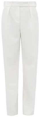 Alexandre Vauthier Straight-leg Crepe Trousers - Womens - White