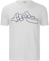 YMC Men's Flock TShirt - White