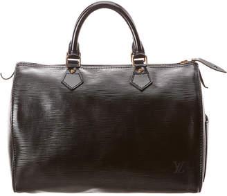 Louis Vuitton Black Epi Leather Speedy 30