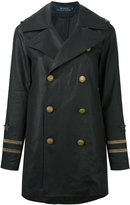 Polo Ralph Lauren double-breasted jacket - women - Linen/Flax - 6