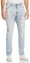 Nudie Jeans Brute Knut Selvedge Slim Fit Jeans in Salty Icon