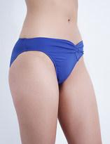 Jets Twist-front bikini bottoms