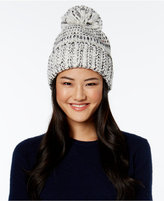 MICHAEL Michael Kors Tweed Fold Up Cuff Hat