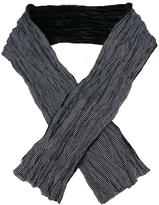 John Varvatos polka dots print scarf - men - Silk/Viscose - One Size
