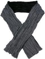 John Varvatos polka dots print scarf
