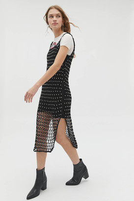 Cleobella Miche Embellished Crochet Midi Dress