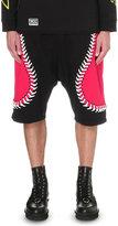 Ktz Oversized-stitch Cotton-jersey Shorts