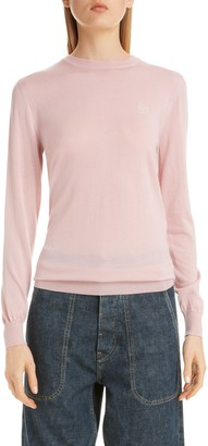 Loewe Anagram Logo Embroidered Cashmere Sweater