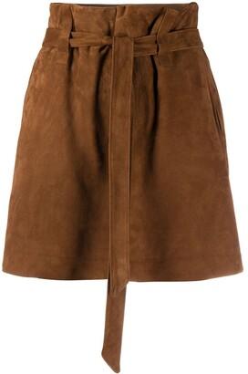 Simonetta Ravizza Mary paperbag-waist shorts