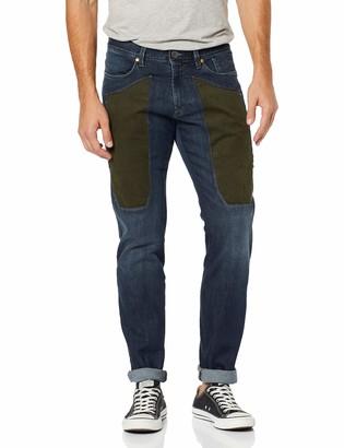 Jeckerson Men's 5pkts ALC. Patch Slim Jeans
