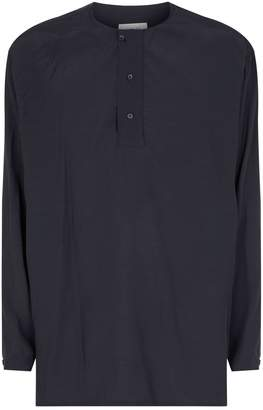 Lemaire Half-Button Shirt