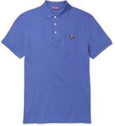 Ralph Lauren Purple Label Mercerised Cotton-Piqué Polo Shirt