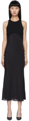Haider Ackermann Black Fabric Combination Dress