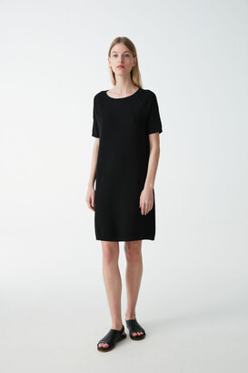 Cos Knitted Round-Neck Dress