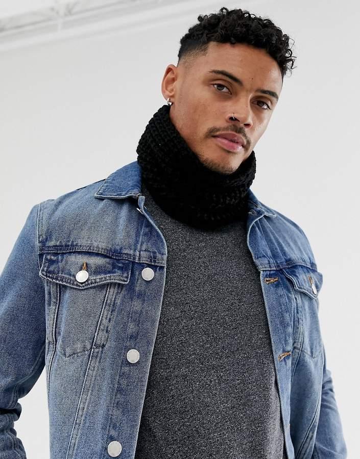 8e5e5e5b6 Asos Black Scarves For Men - ShopStyle Canada
