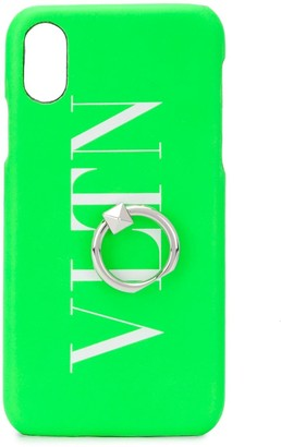 Valentino VLTN logo-print iPhone X/XS case