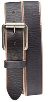 Bill Adler Men's 1981 'Jelly Bean' Raw Edge Leather Belt